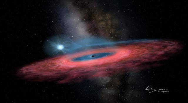 کشف سیاهچاله کوچکی که زیادی بزرگ است!