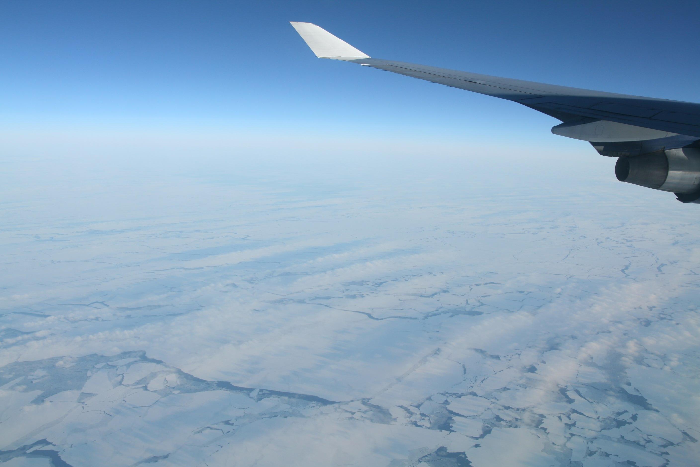 在飞机上拍摄的照片精选