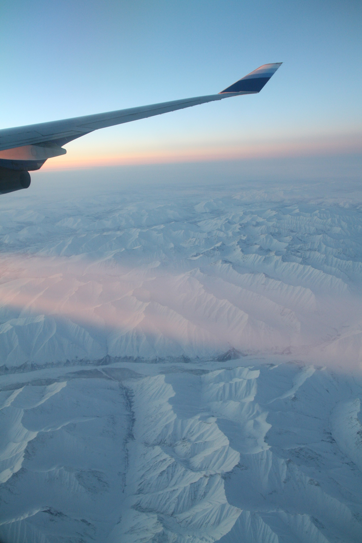 空中美景,在飞机上拍摄的照片精选