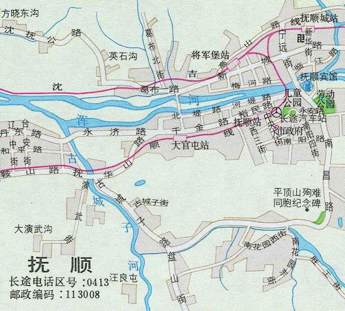 抚顺到秦皇岛地图