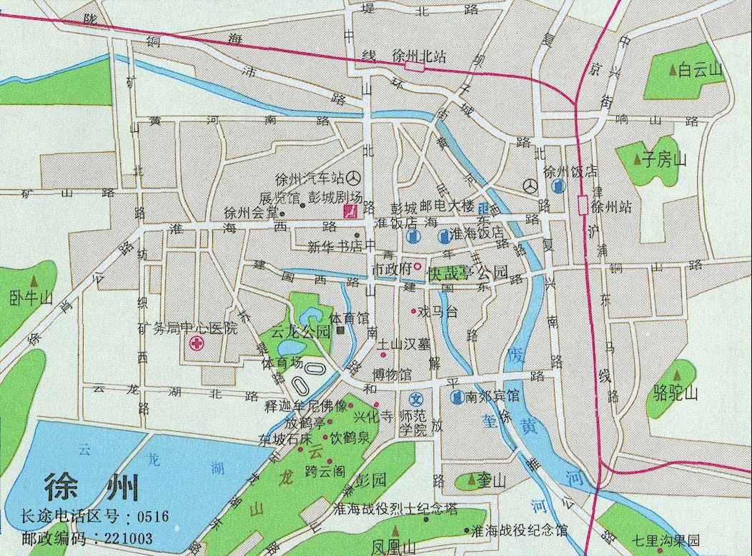 市南建有淮海 战役烈士纪念塔和纪 念馆.